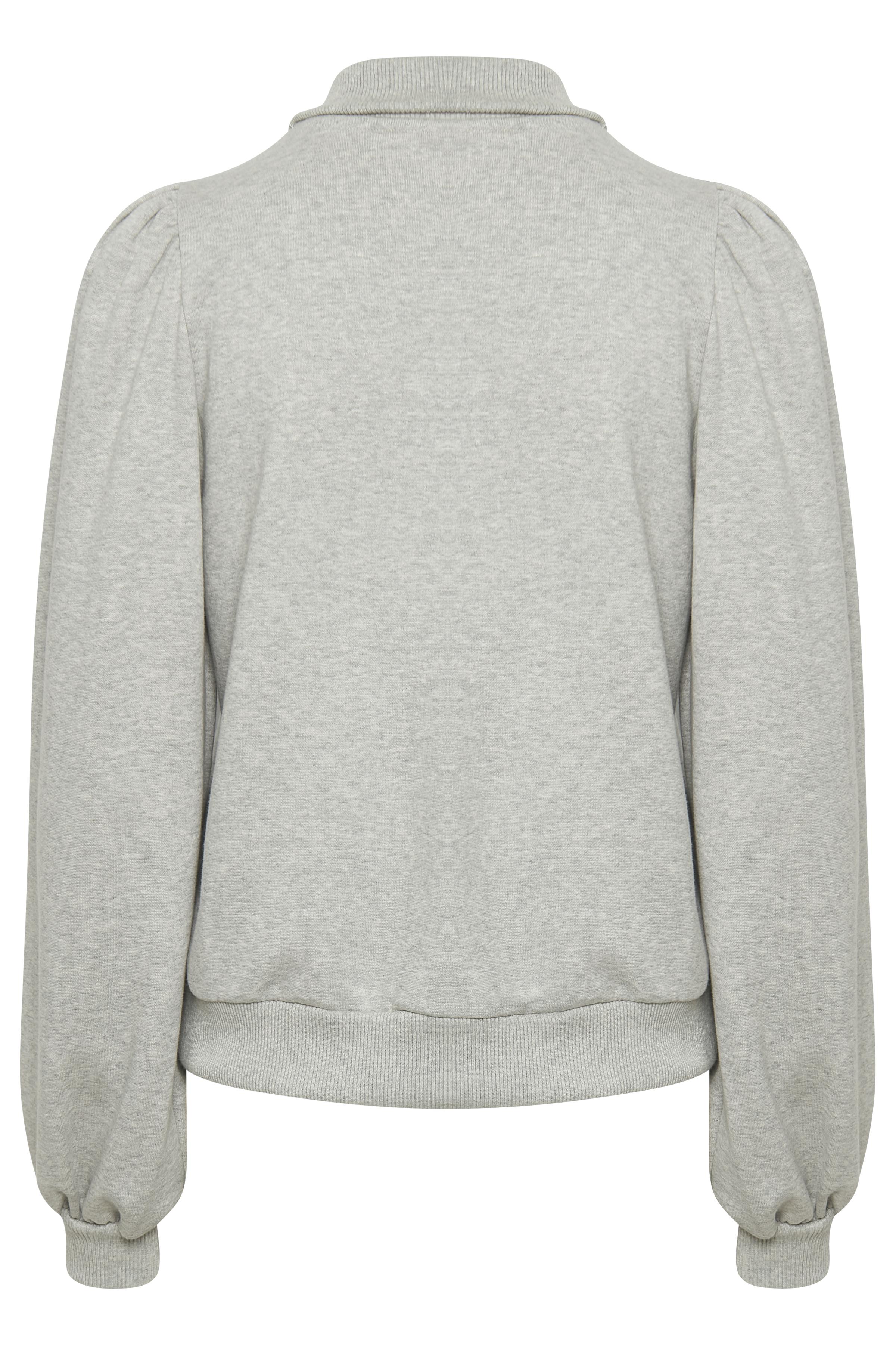 Gestuz NankitaGZ sweatshirt, Light Grey Melange, L