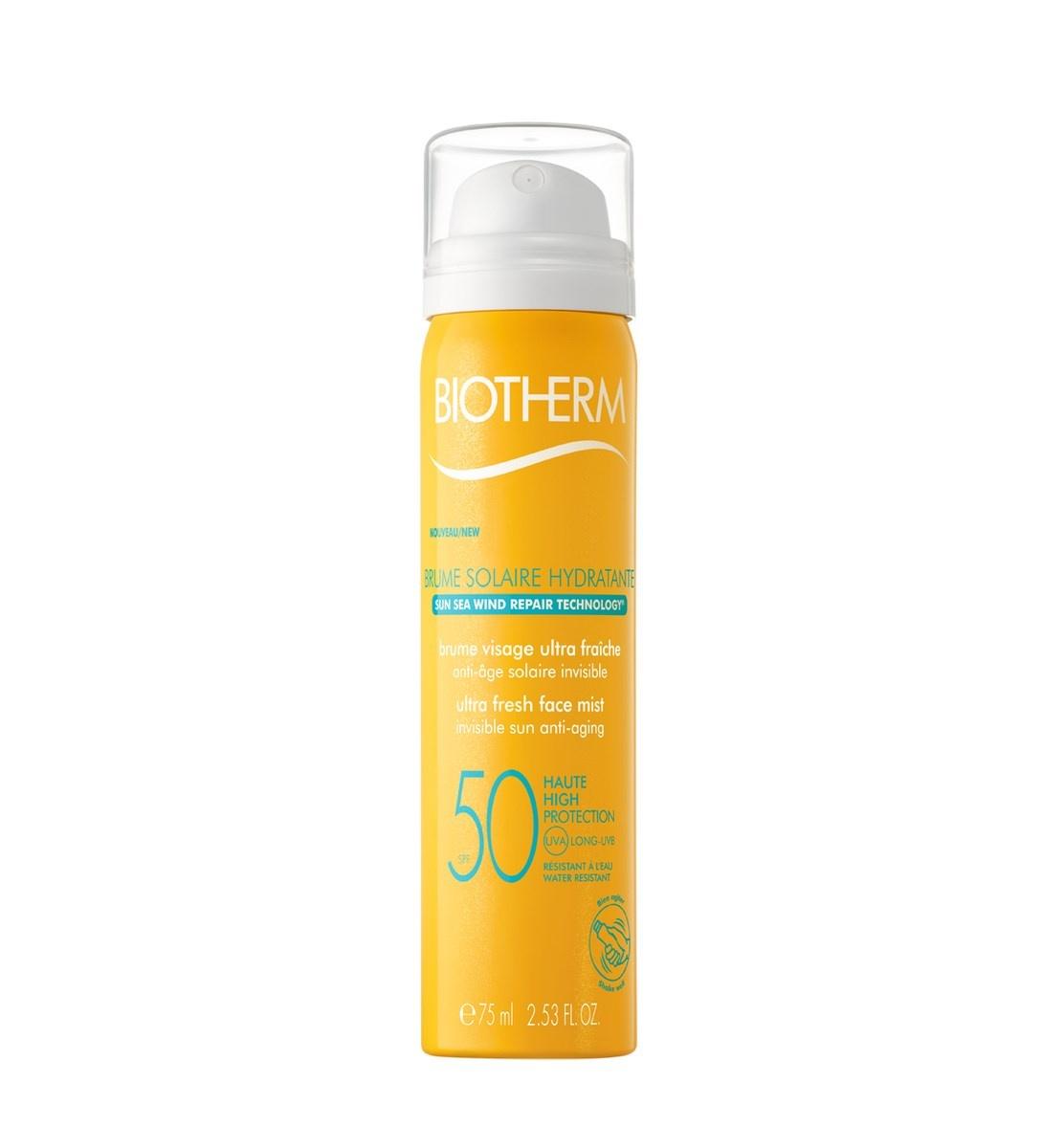 Biotherm Eau Solaire Hydratante Face Mist, 75 ml