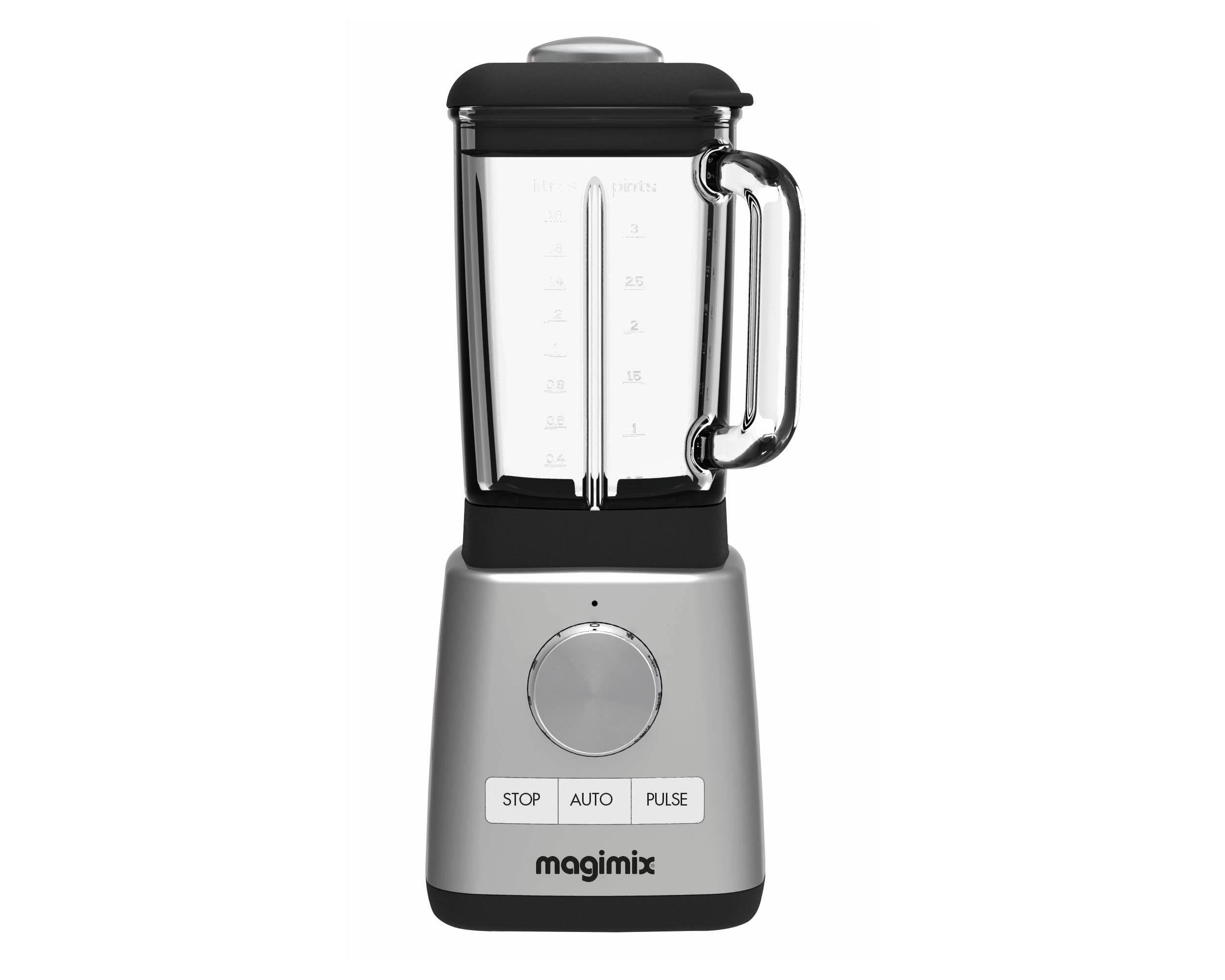 Magimix Power blender, 1,8 liter, matstål
