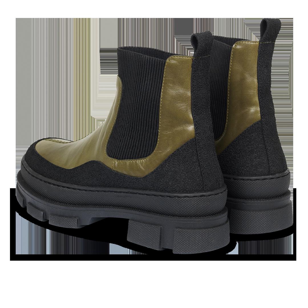 Angulus 7634-101-8874 støvle, grøn, 41