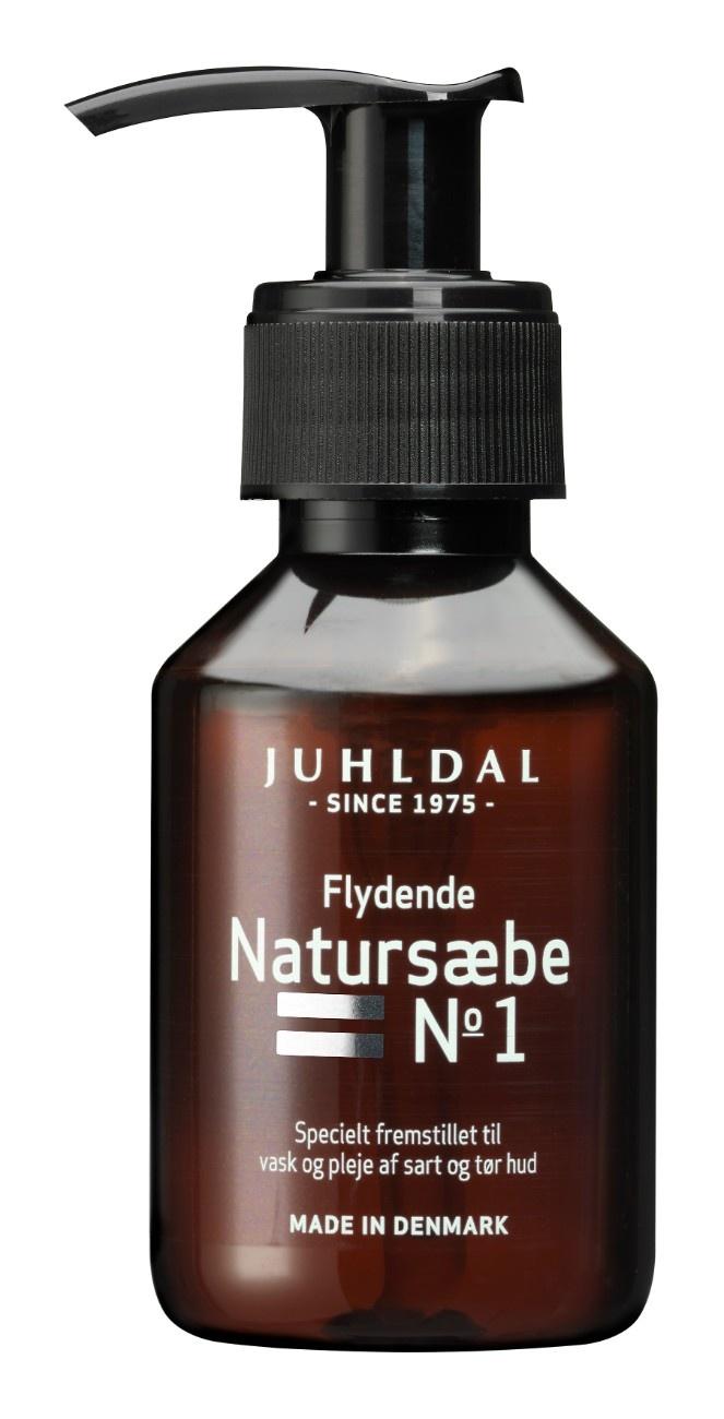 Juhldal Flydende Natursæbe No. 1, 100 ml