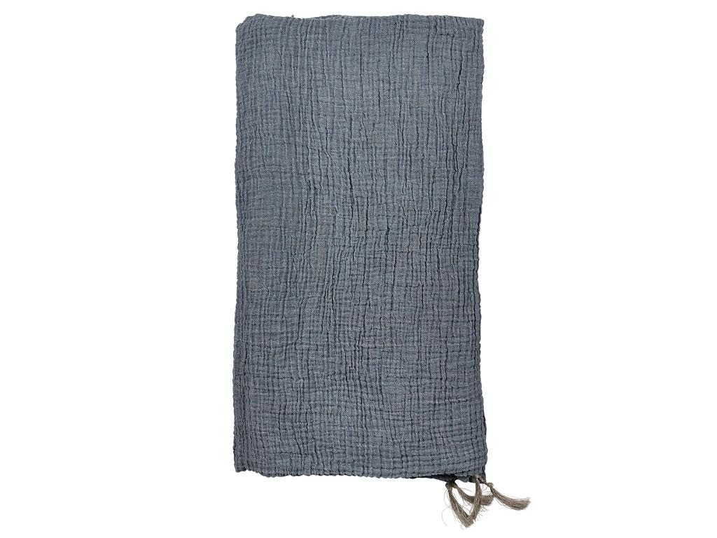 Södahl Poetry sengetæppe, 200x260 cm, china blue