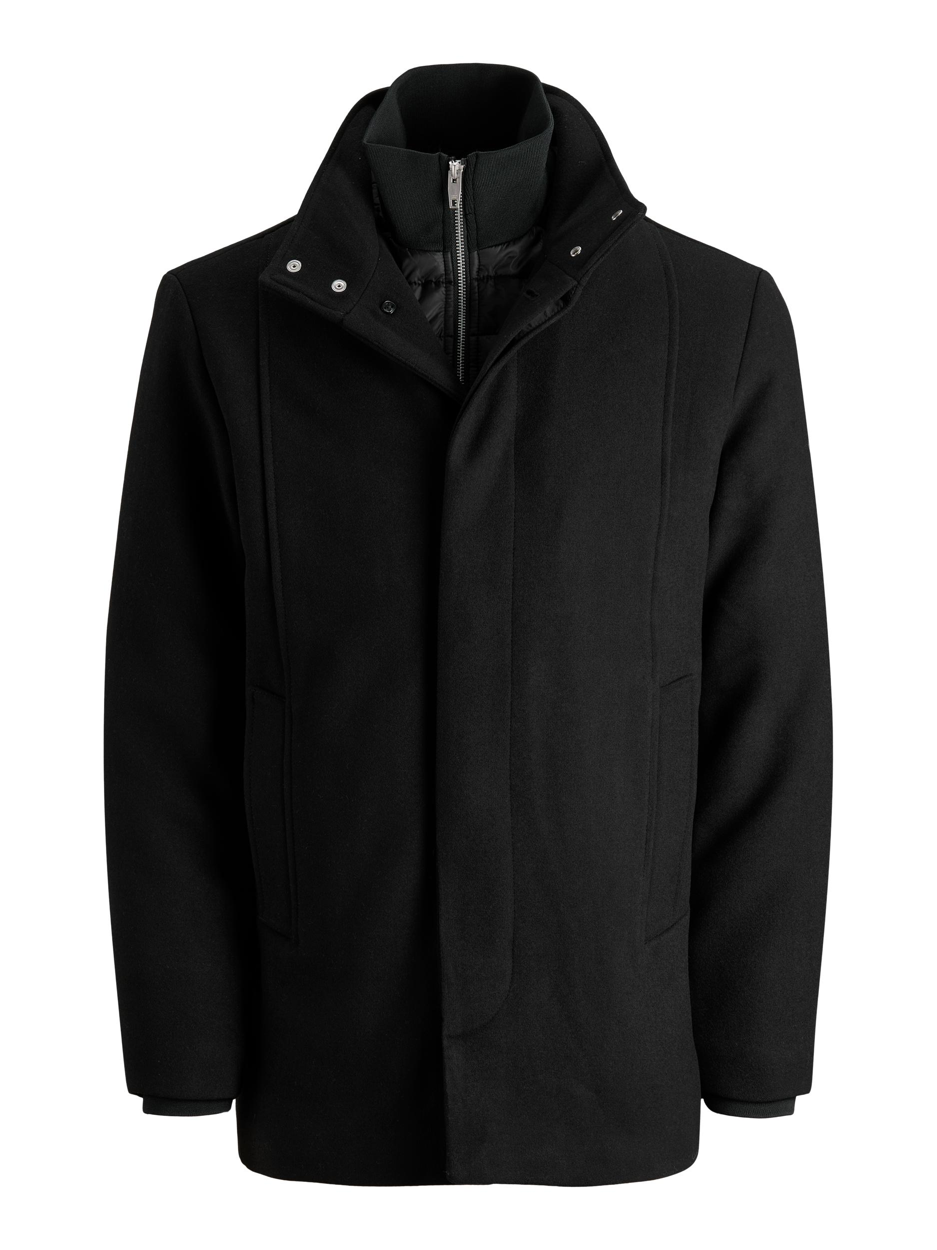 Jack & Jones Dunham uld jakke, black, x-large