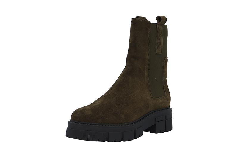 Ca'shott 26141 støvle, olive suede, 38