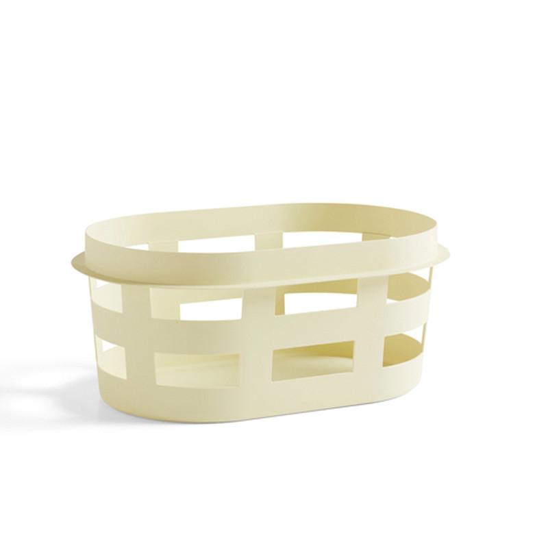 Hay vasketøjskurv, Soft yellow, small