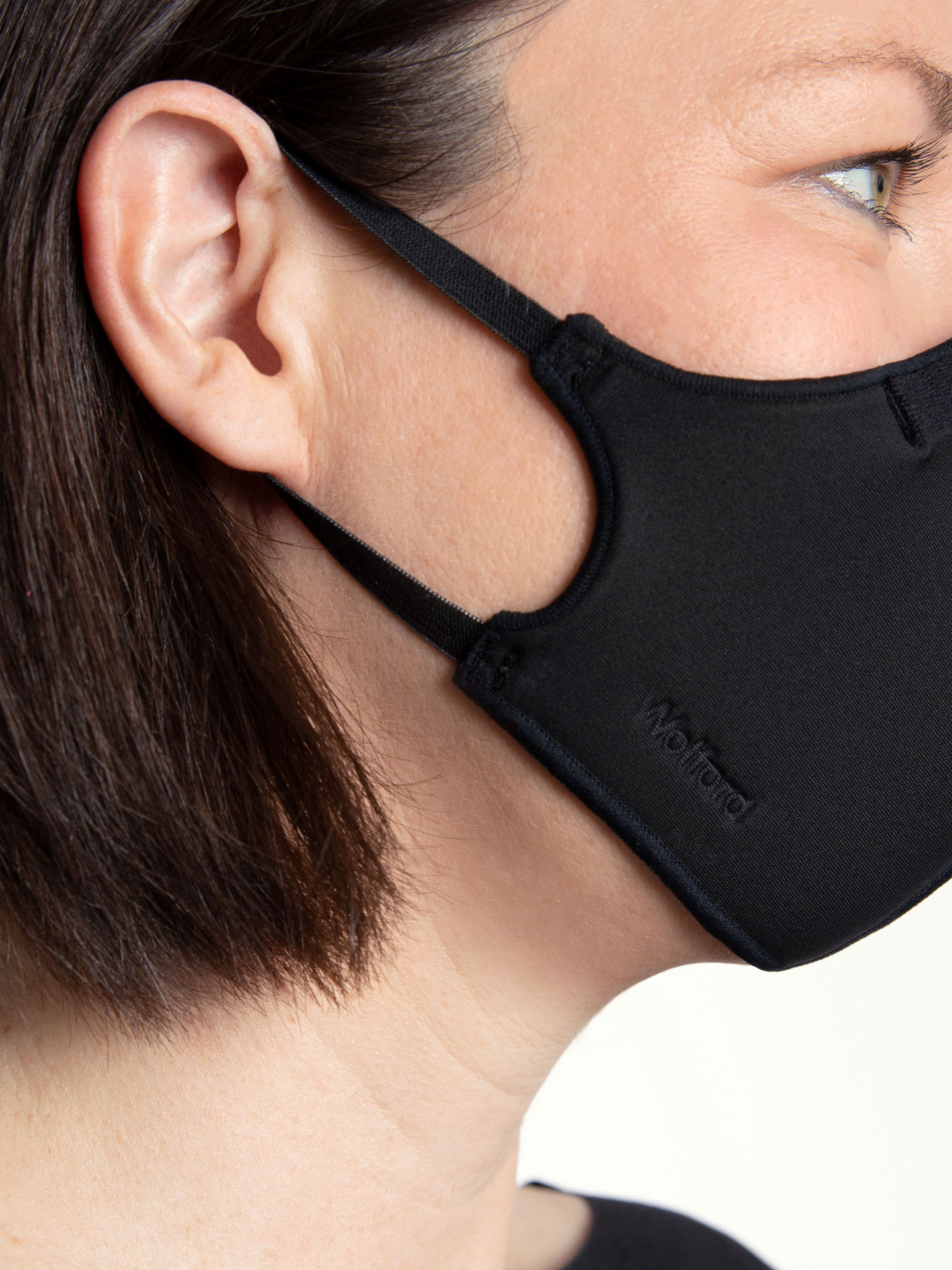 Wolford Classic Mask Fit mundbind, black, x-small/small