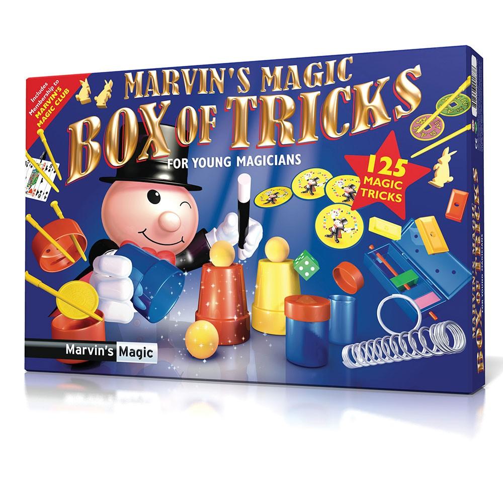 Marvins Magic tryllesæt med 125 tricks