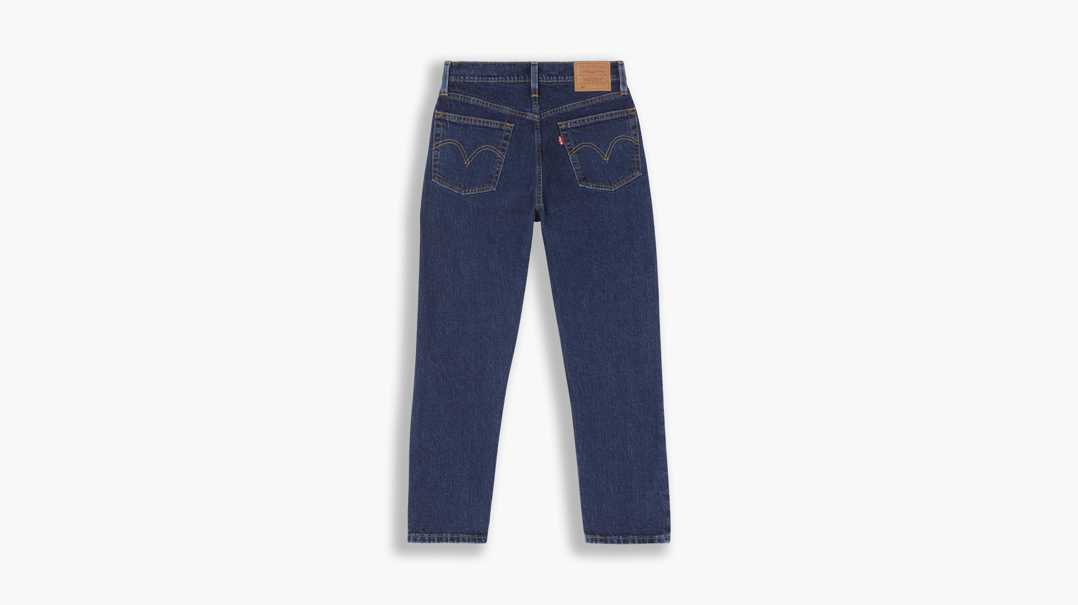 Levi's 501 Original Crop jeans, salsa stonewash, 26/30