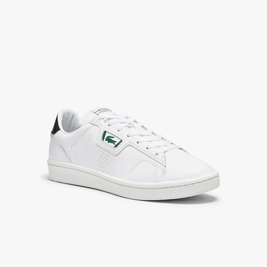 Lacoste Masters Classic sneaker, white-dark green, 44