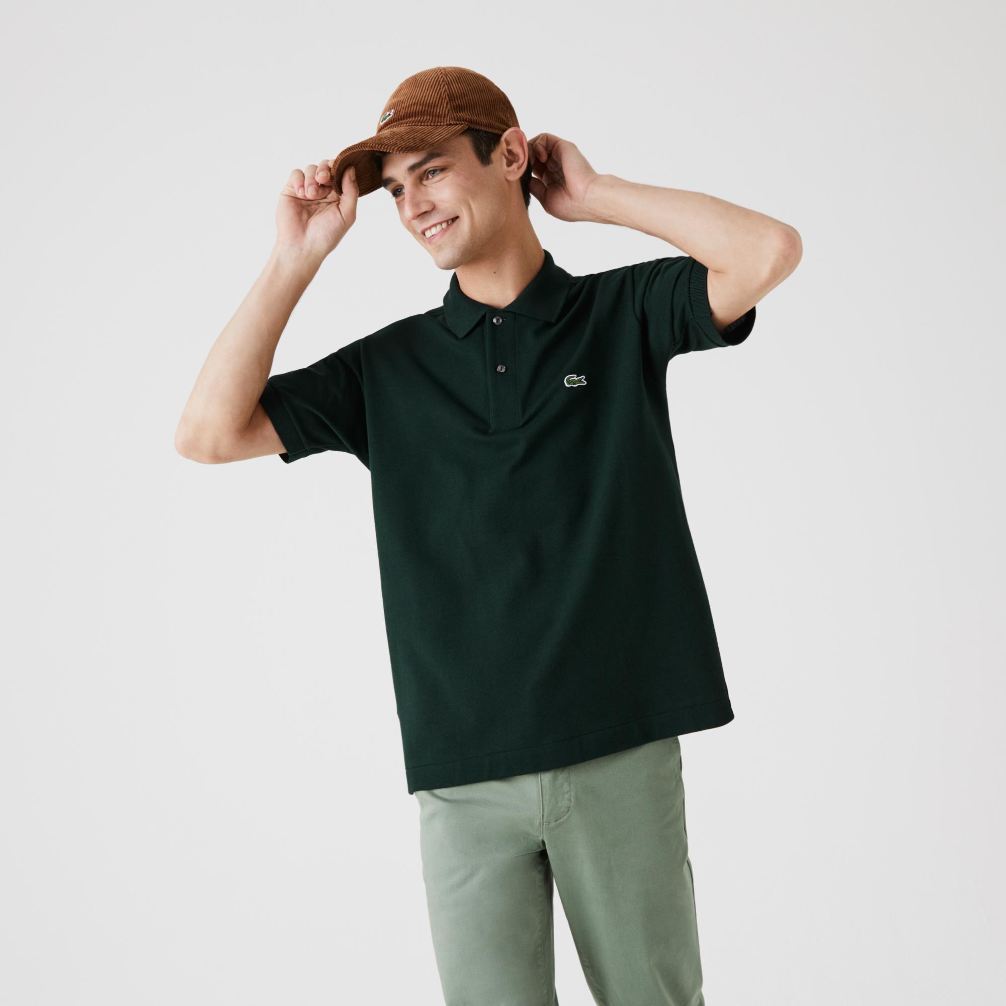 Lacoste Classic Fit Polo, Grøn, L