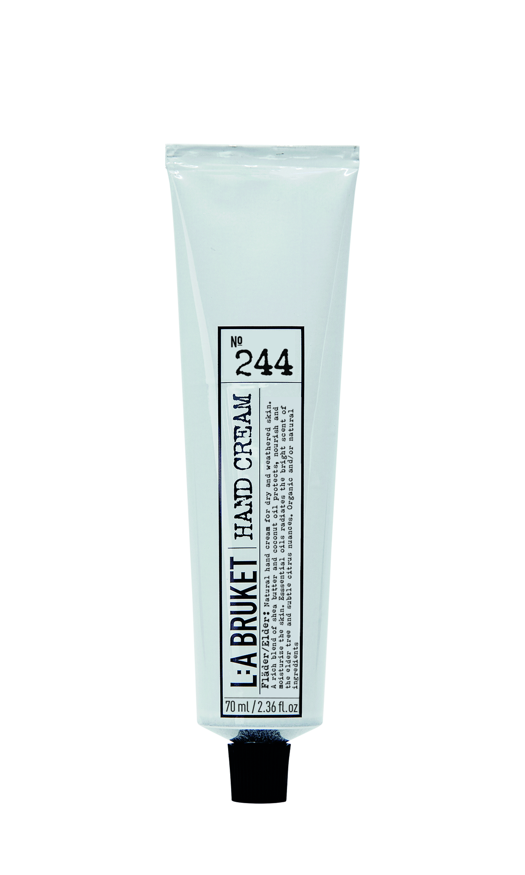 L:a Bruket No. 244 håndcreme, 70 ml, hyldeblomst