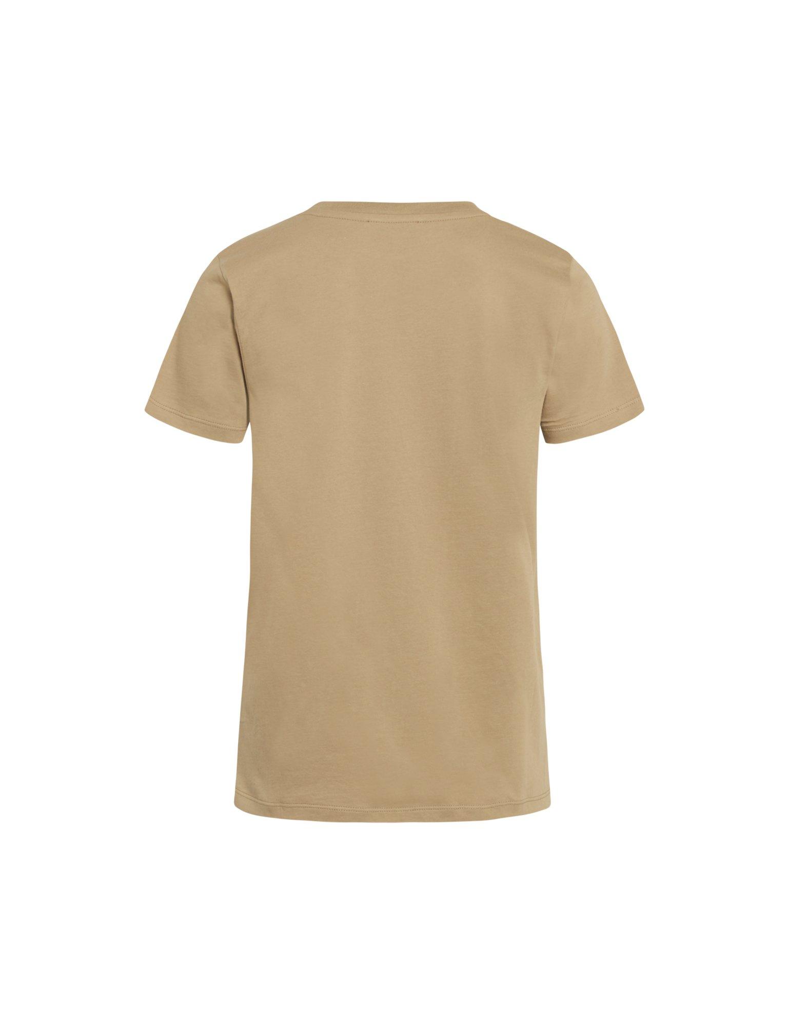 Mads Nørgaard Single Organic Trenda P t-shirt, warm beige, x-large