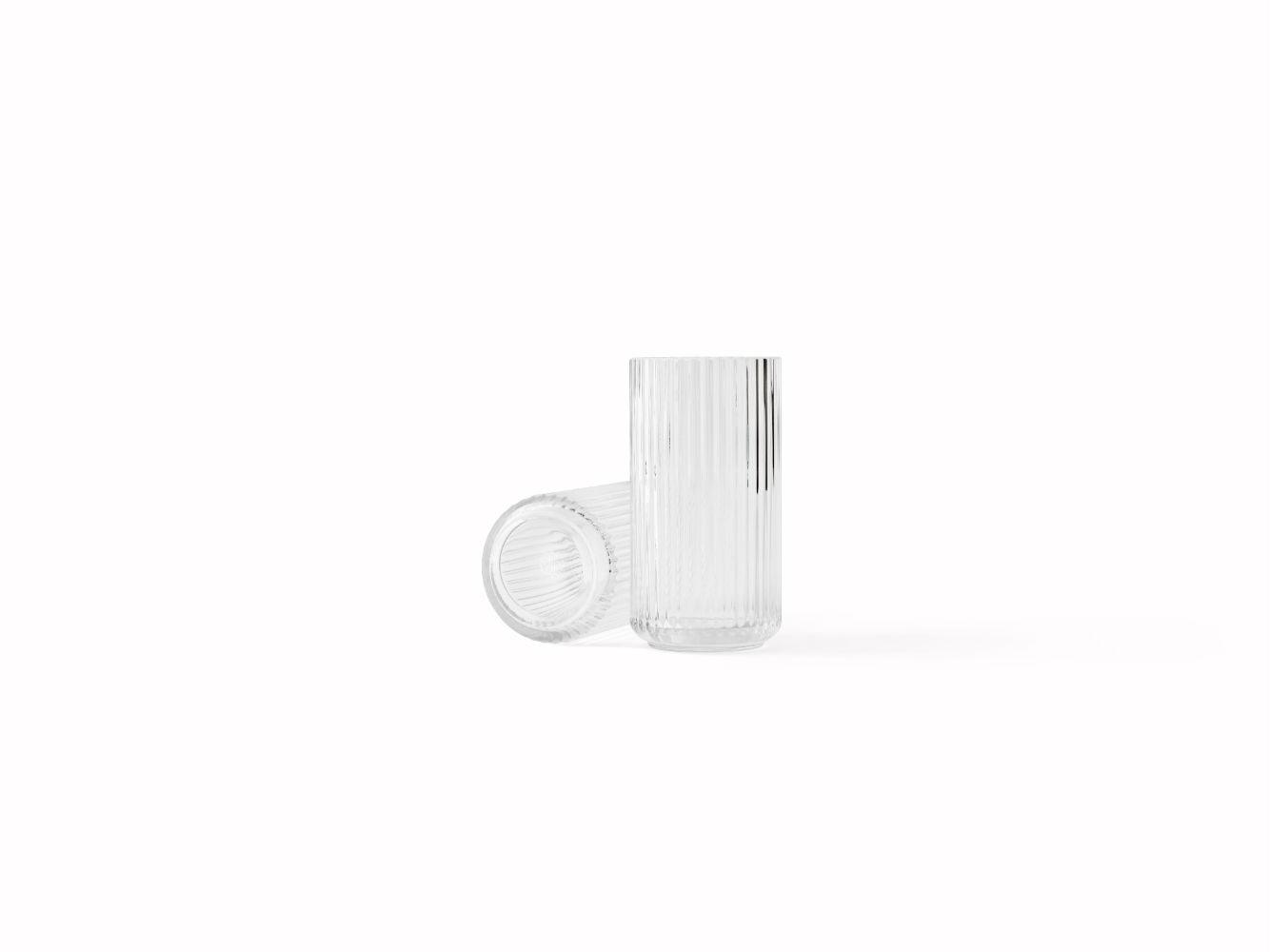 Lyngby Porcelæn glasvase, 20 cm
