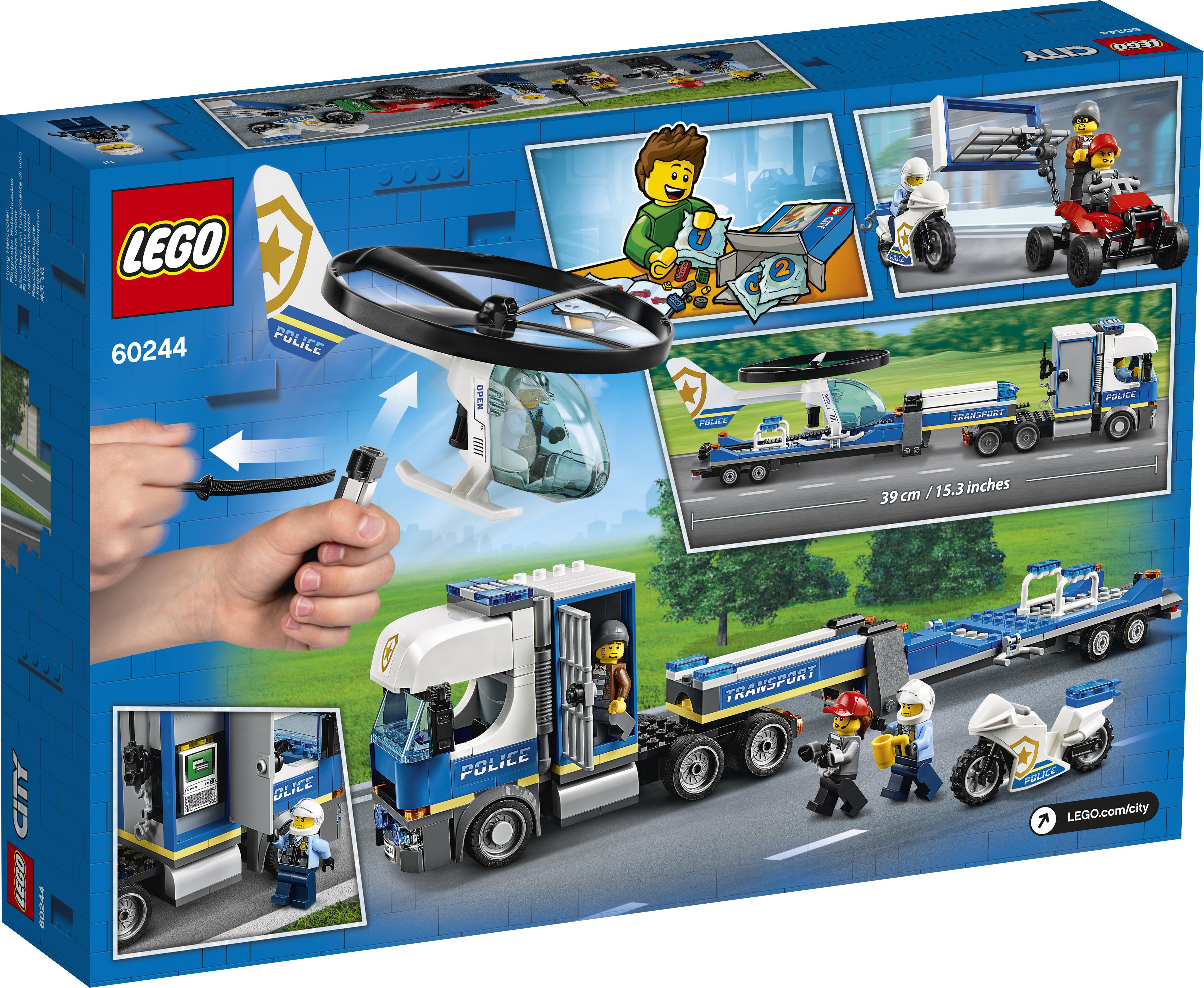 LEGO City Politihelikoptertransport - 60244