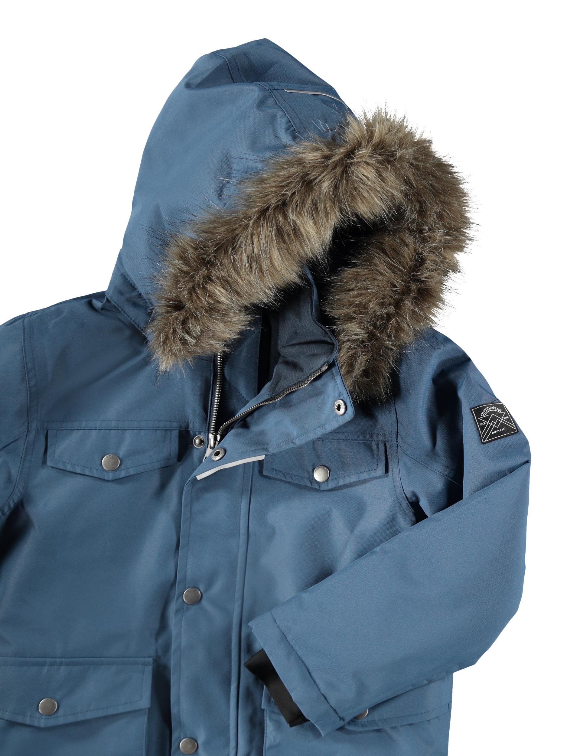 Name It Snow10 vinterjakke, dark denim, 146