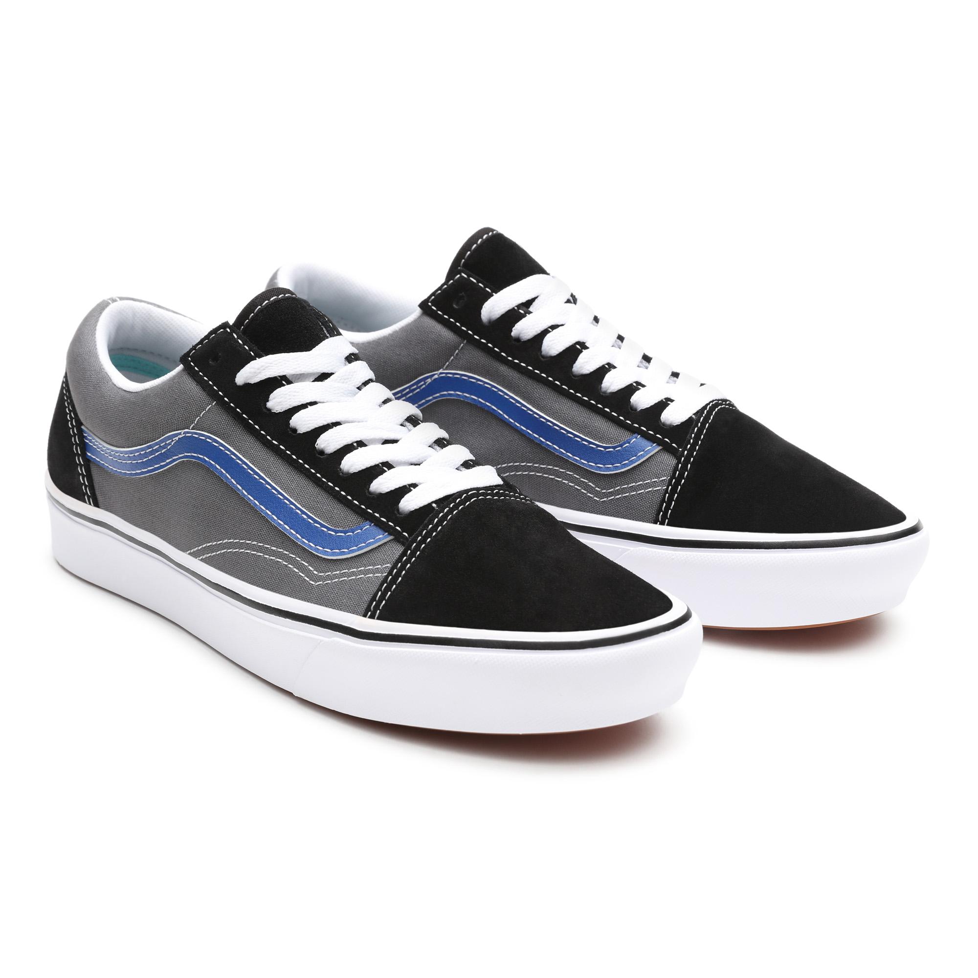 Vans Comfycush old sneaker, black pewter, 43