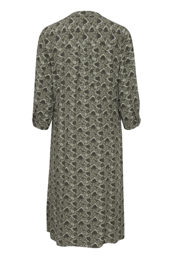 Fransa 20609475 kjole, hedge mix, medium
