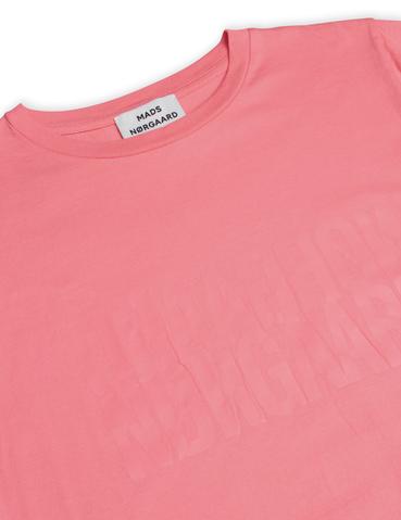 Mads Nørgaard Trenda t-shirt, strawberry pink, large
