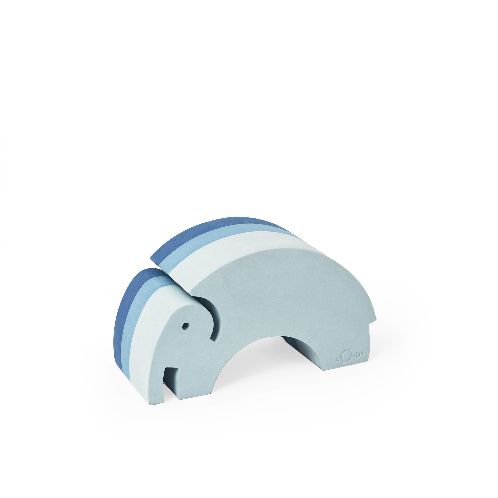 bObles elefant, medium, blå