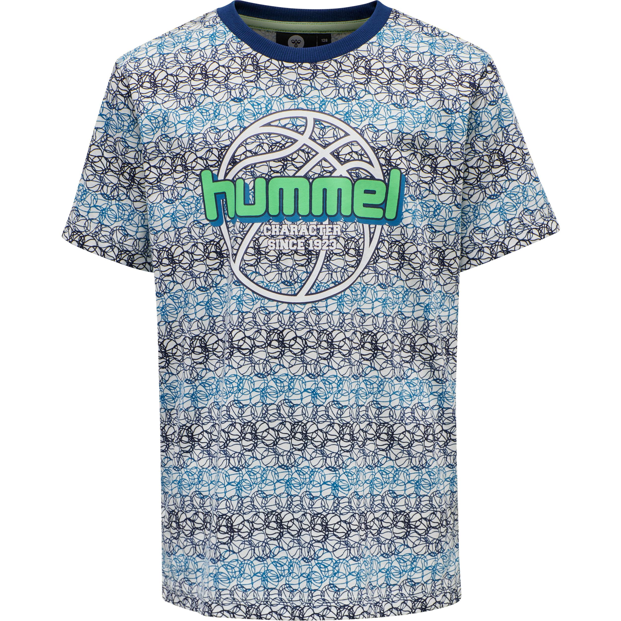 Hummel Heat SS t-shirt, Estate blue, 109