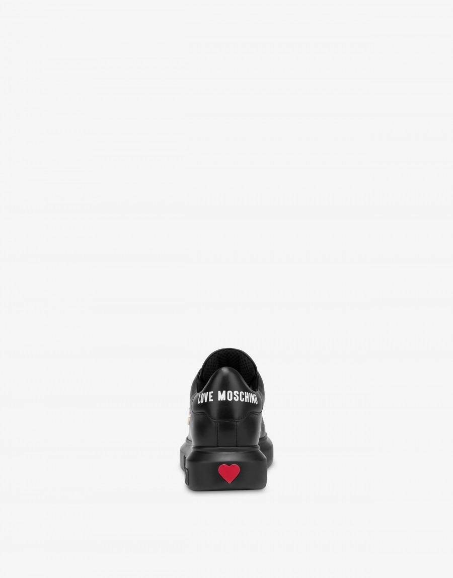 Love Moschino Sneakers, Black, 41
