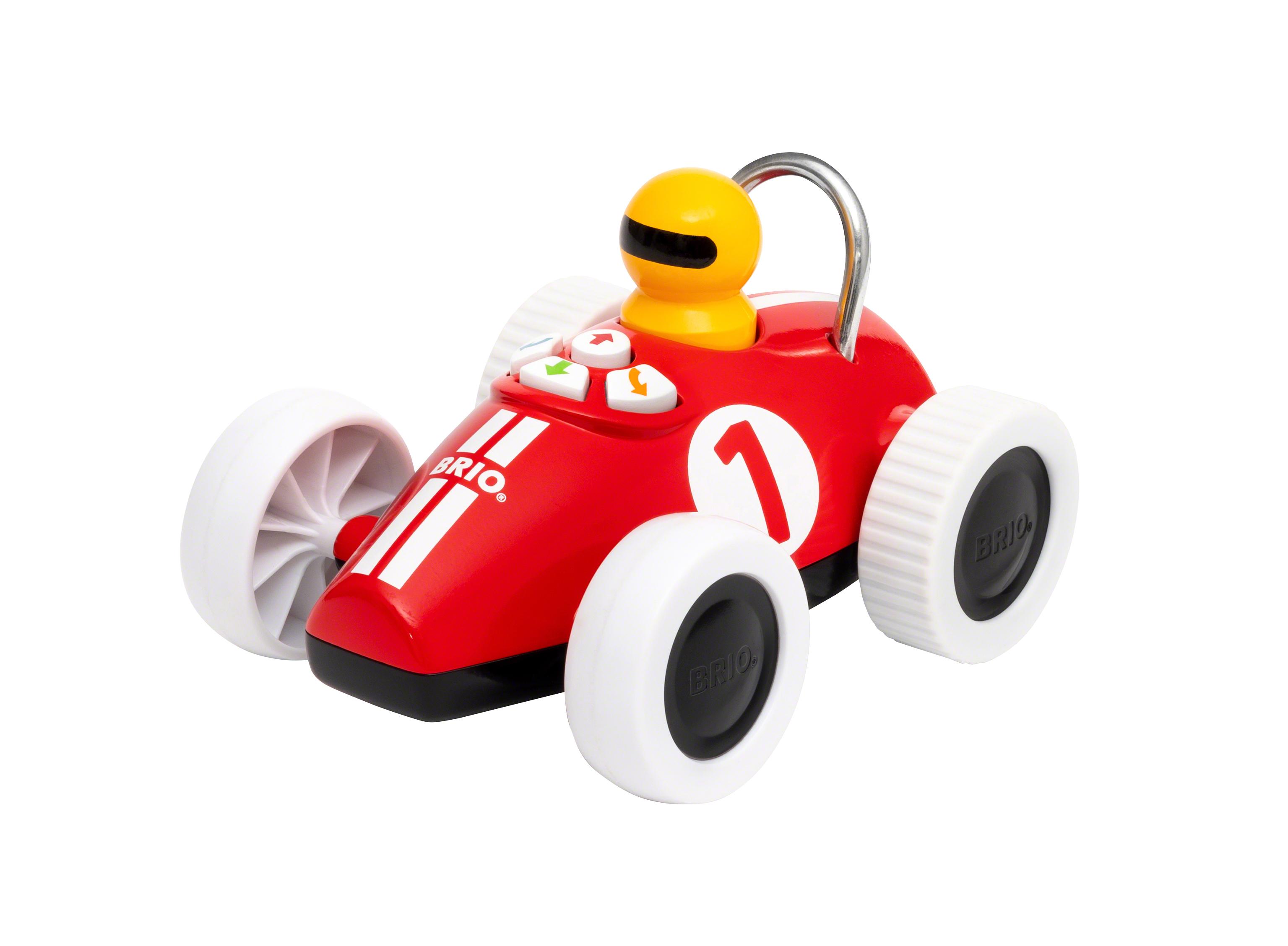 BRIO Leg og Lær Action racerbil