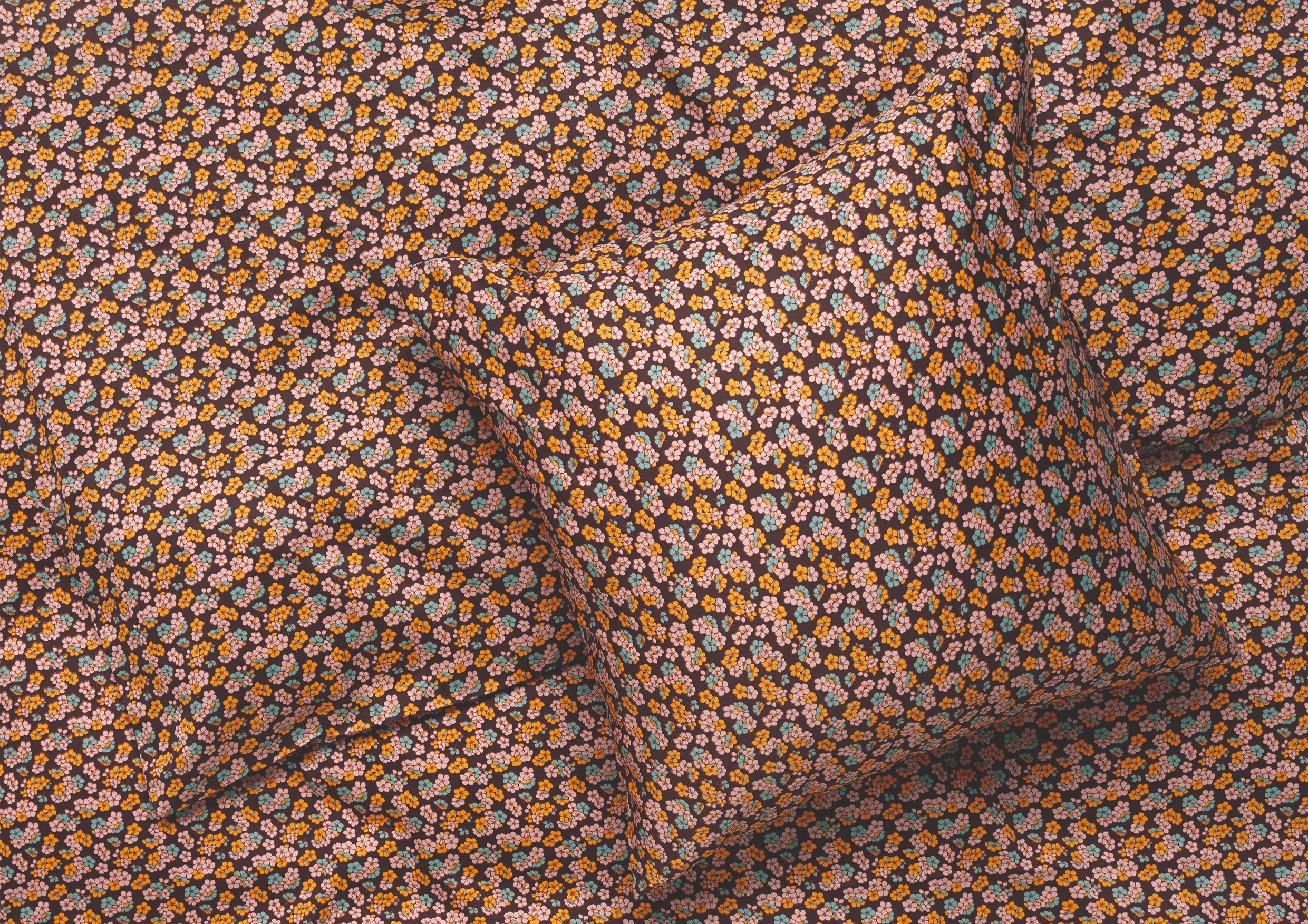 Juna Pleasantly sengelinned, 140x200 cm, chokolade