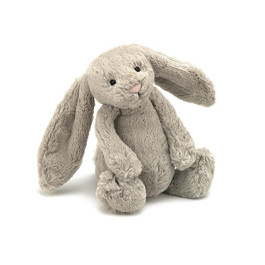 Jellycat, Bashful kanin, 36 cm, beige
