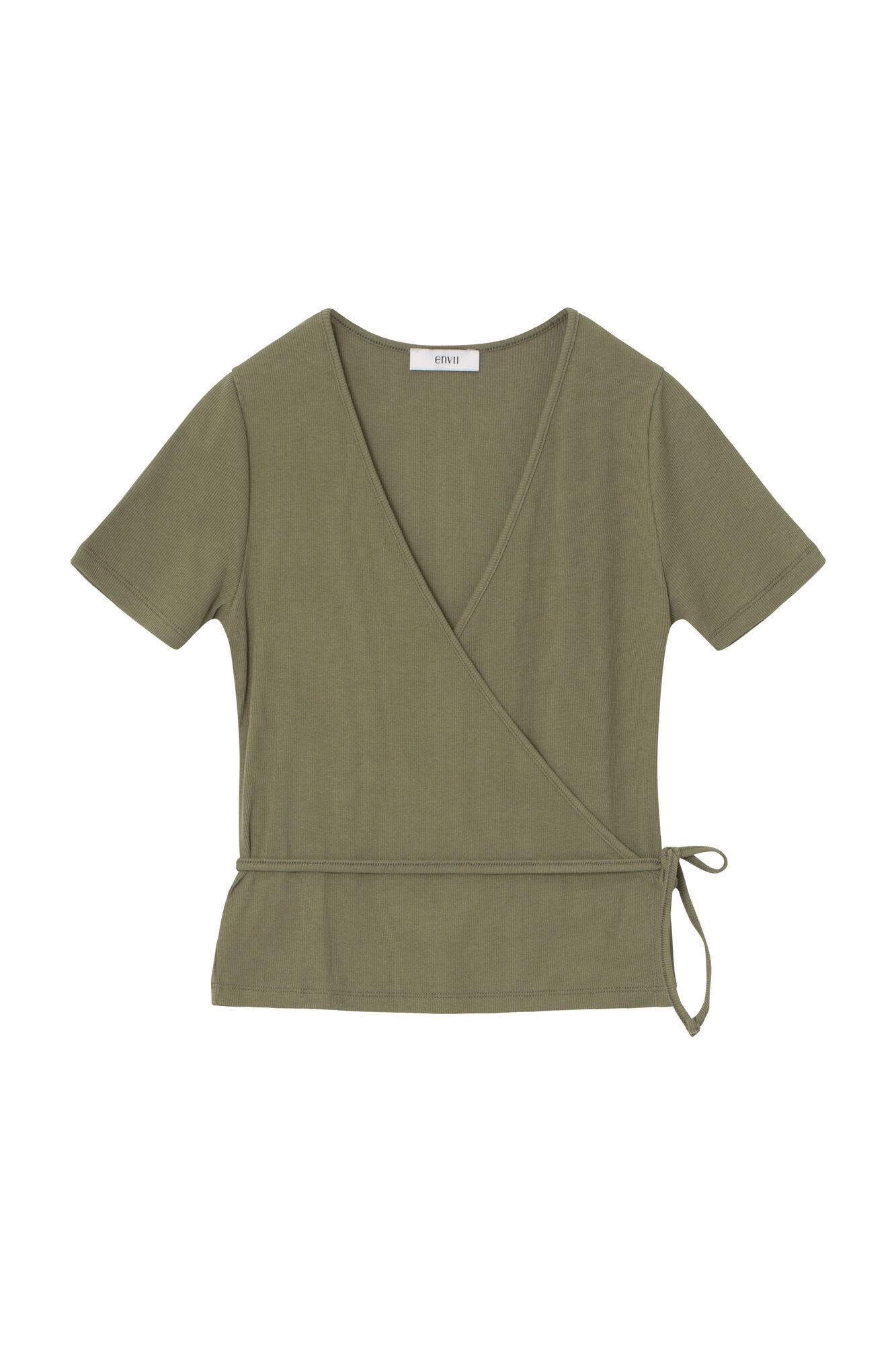 Envii Enally t-shirt, deep lichen green, x-small