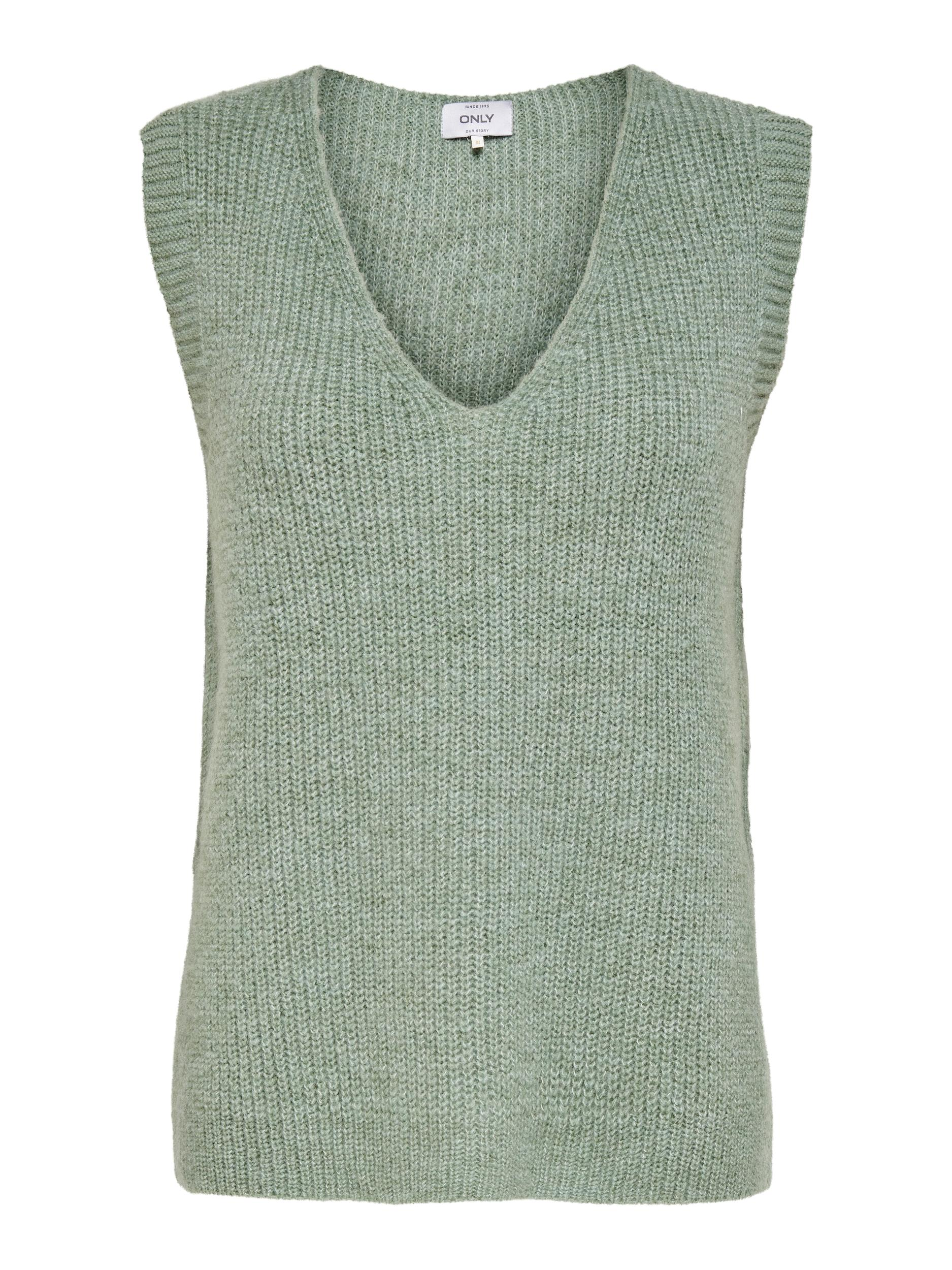 ONLY Cora vest, granite green, x-large