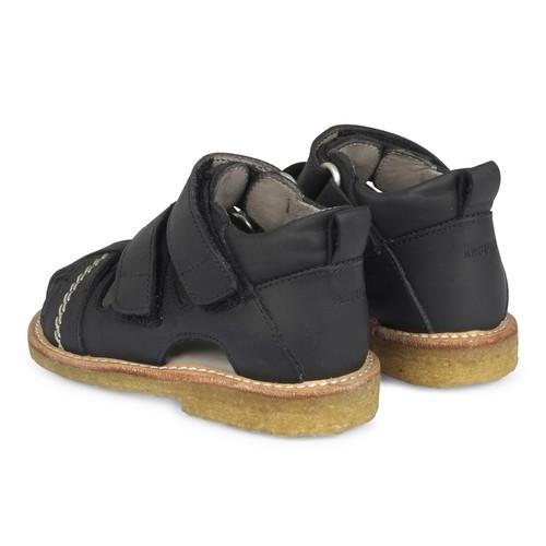 Angulus 0506-102 sandal, sort, 25