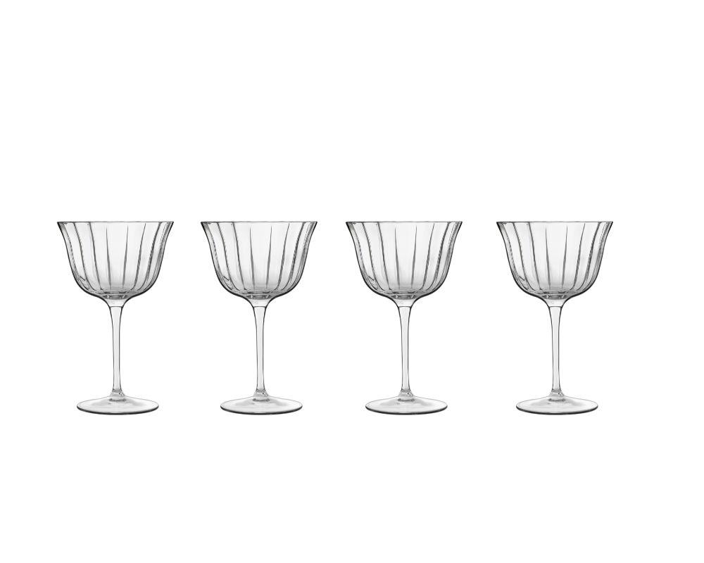Luigi Bormioli Bach Retro cocktailglas, 260 ml, 4 stk
