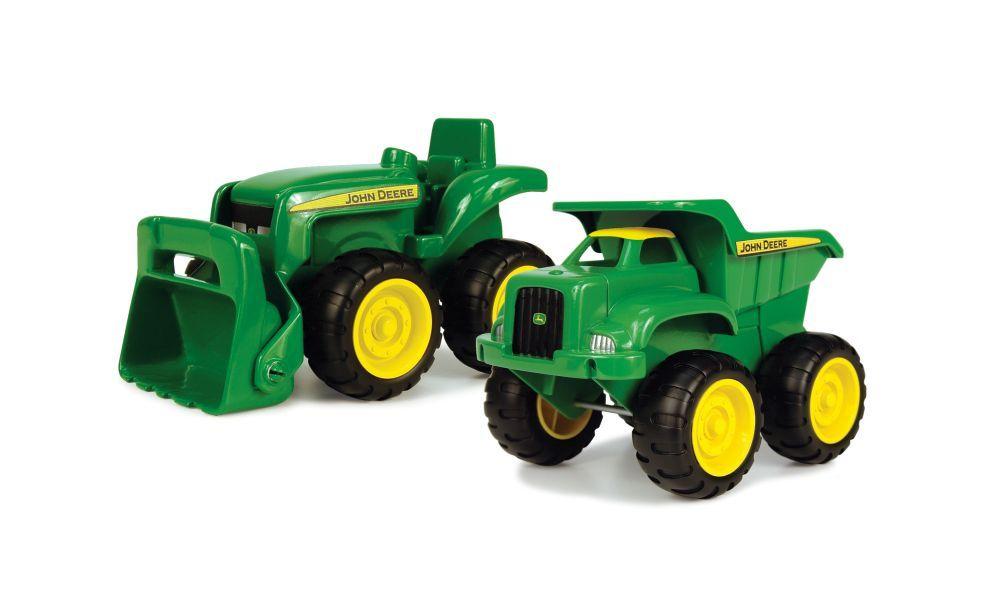 John Deere Mini traktor og lastbil sæt