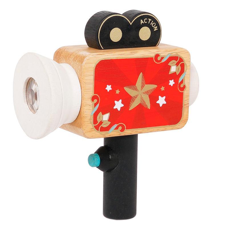 Le Toy Van Honeybake filmkamera trælegetøj