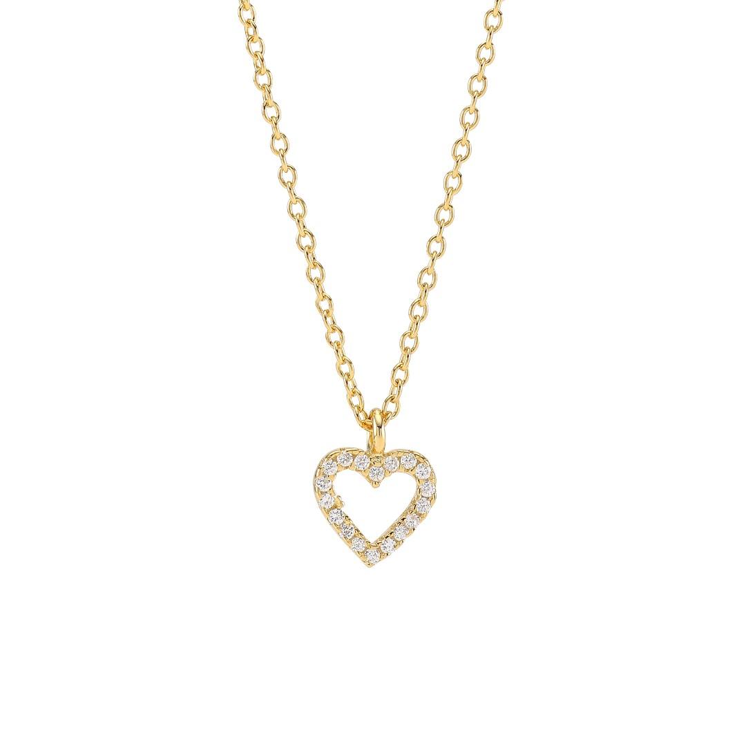 Joanli Nor Aida halskæde, guld, 8 mm