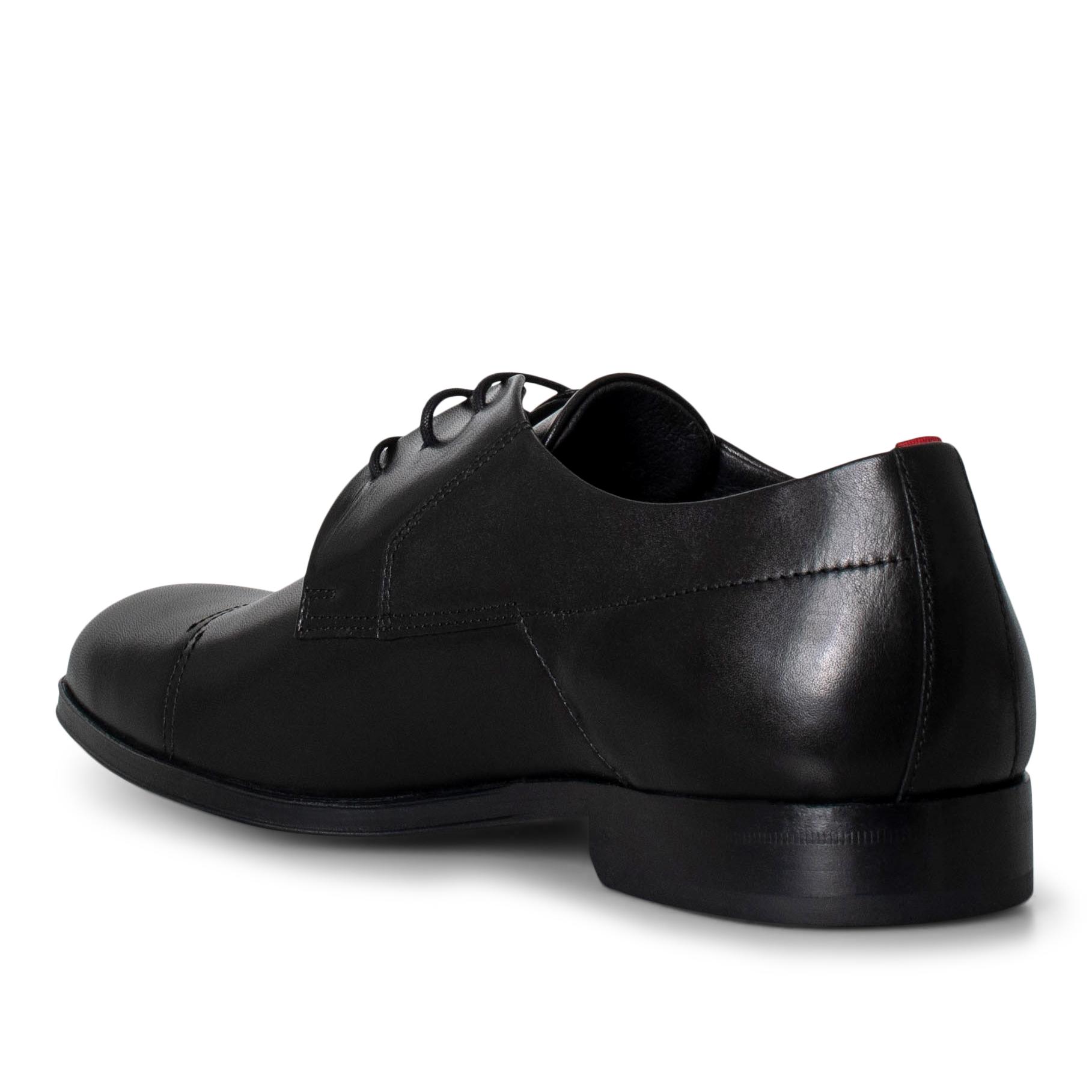 Hugo Boss Derby Lace-up sko, black, 41,5