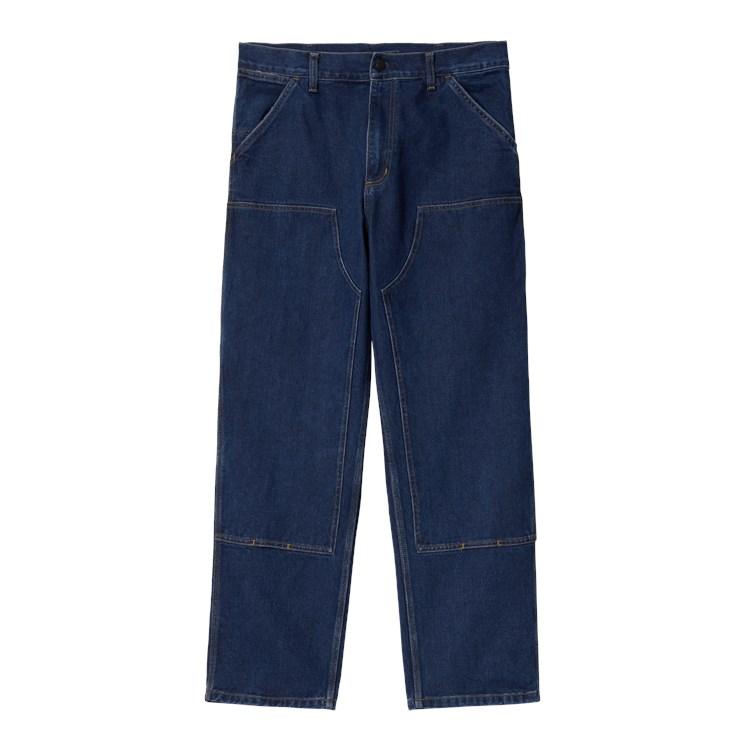 Carhartt Double Knee Bukser, Blå, W33/L32