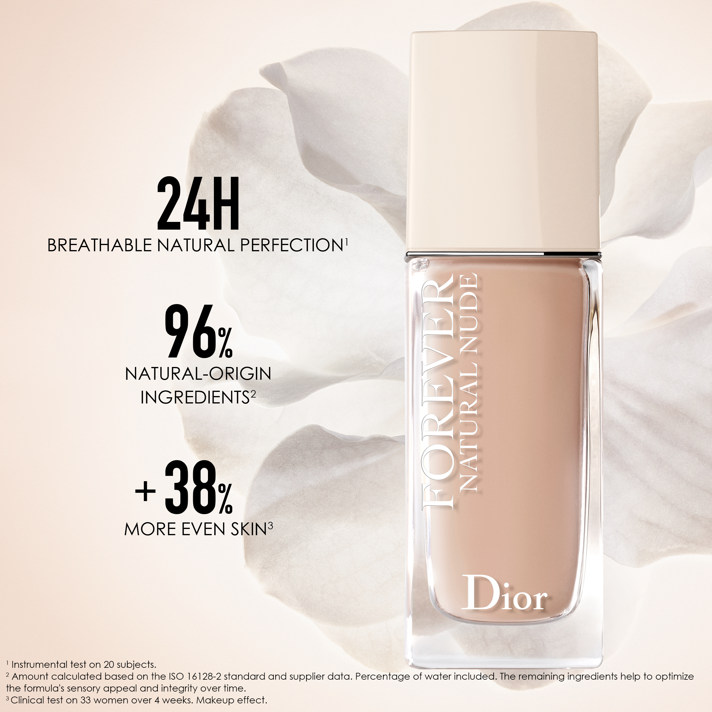 DIOR Forever Natural Nude Lightweight Foundation, 2N