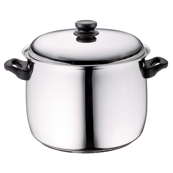 Fiskars Royal suppegryde med låg, 15 liter, stål