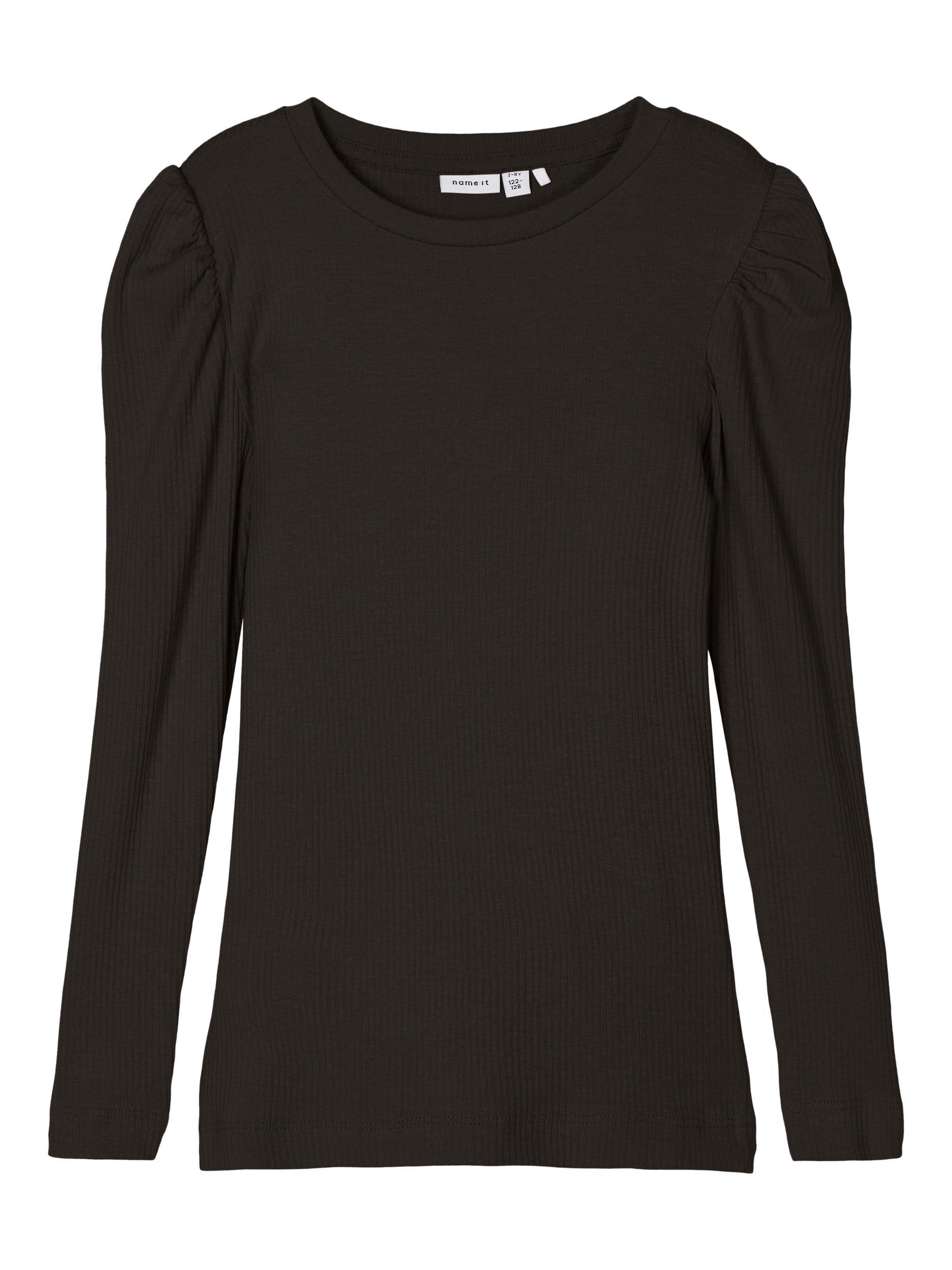 Name It Kabexi LS bluse, black, 146-152