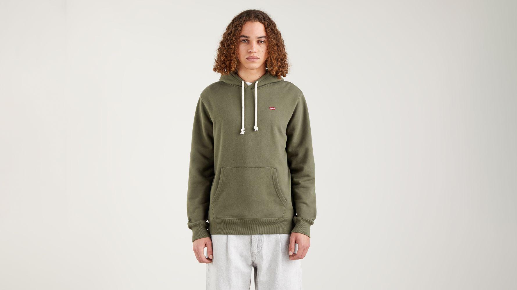 Levi's Original hoodie, grøn, small