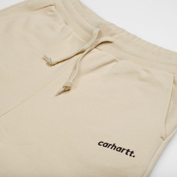 Carhartt W Typeface sweatpants, flour, large