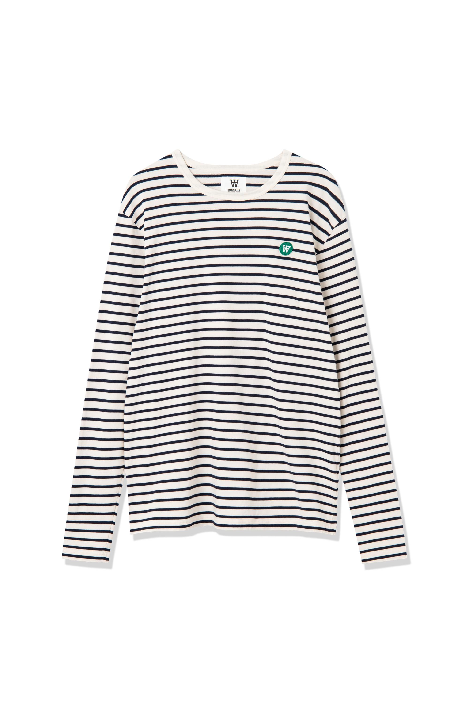 Wood Wood Mel Stripe L/S t-shirt