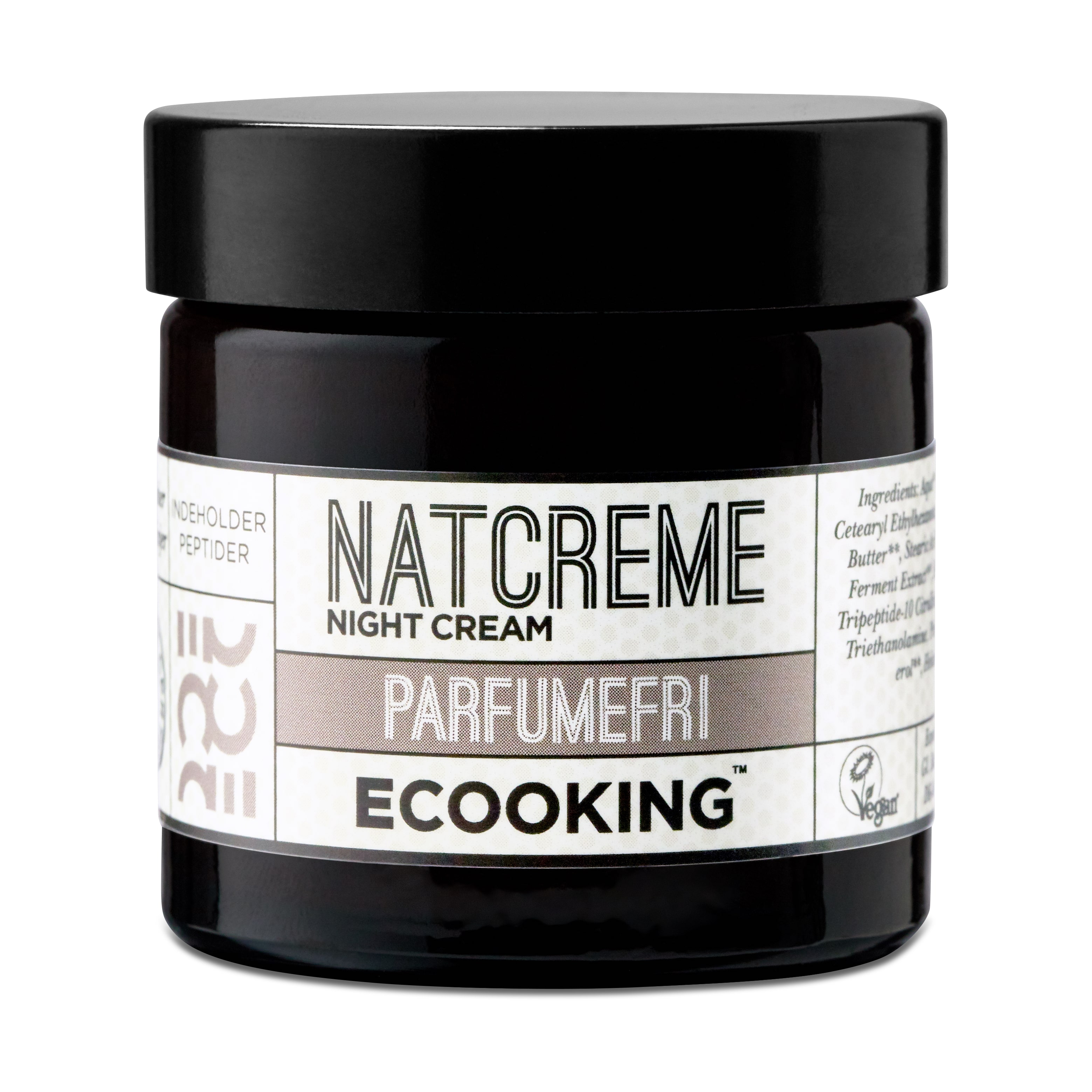 Ecooking Parfumefri Natcreme, 50 ml