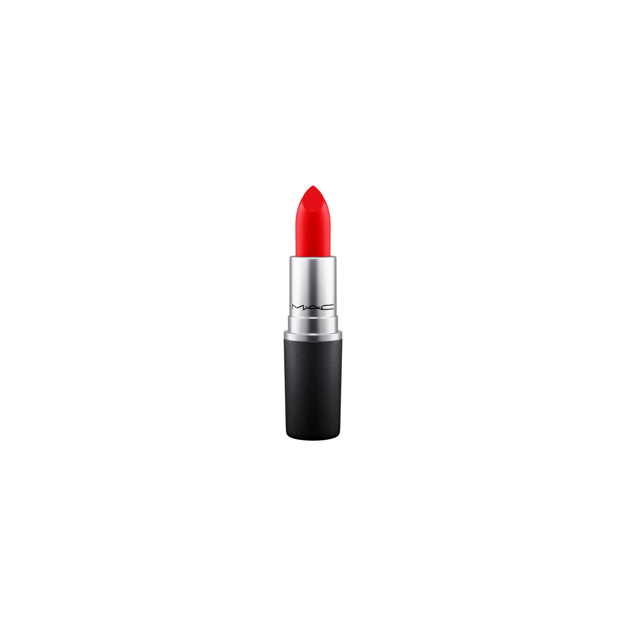 MAC Lipstick, red rock