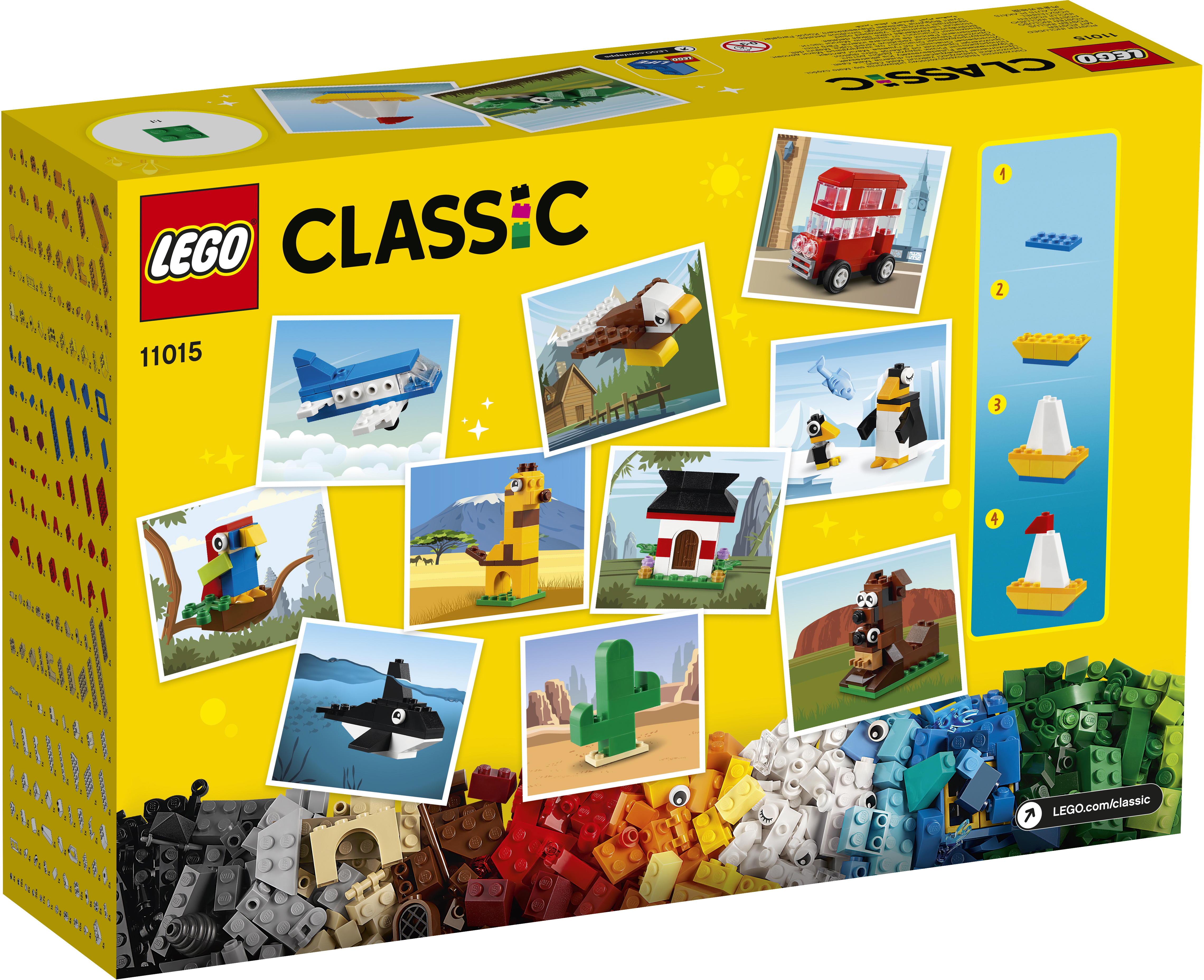 LEGO Classic Verden rundt - 11015