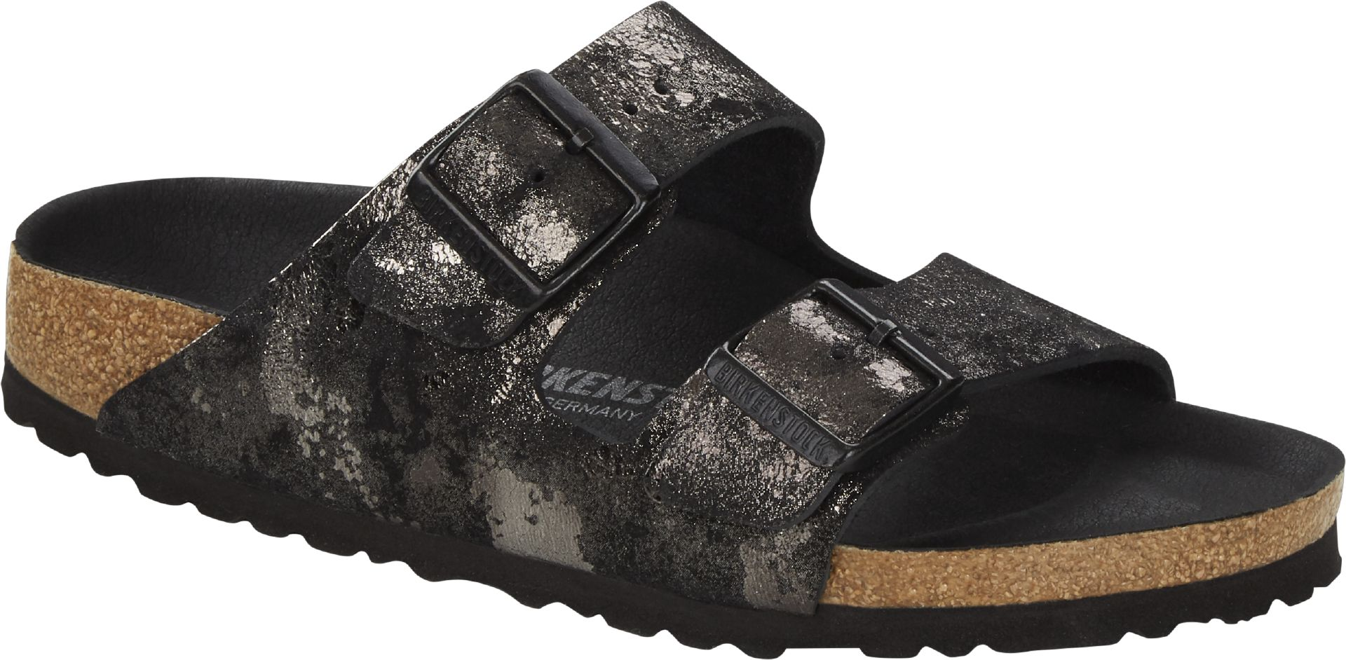Birkenstock Arizona sandaler, vintage black, 38
