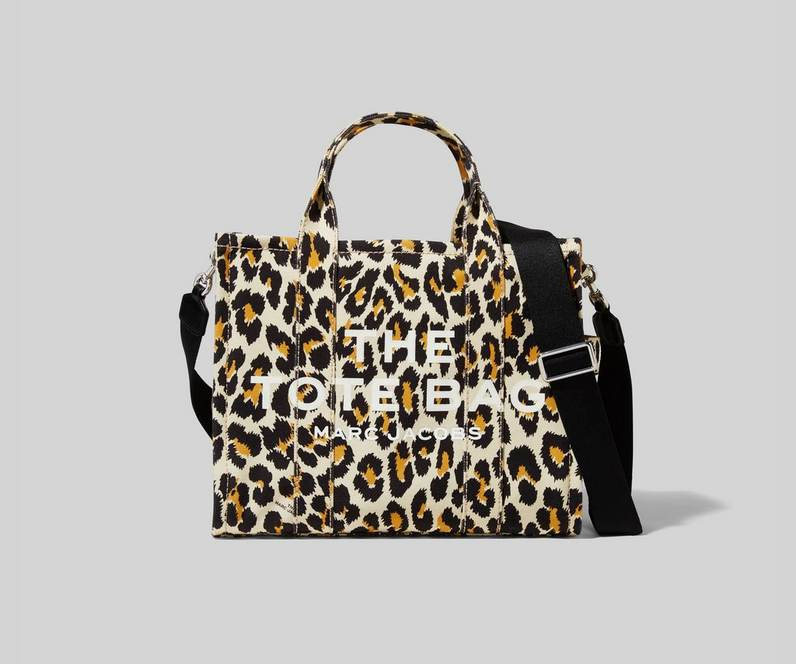 Marc Jacobs The Leopard Small Traveler Tote shopper