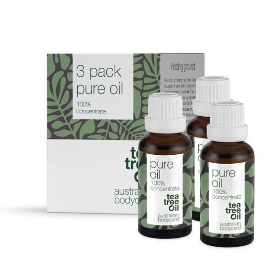 Australian Bodycare Pure Oil Sampak á 3 stk.
