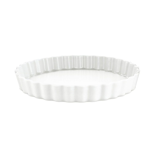Pillivuyt tærteform nr. 9, Ø27,5 cm, hvid